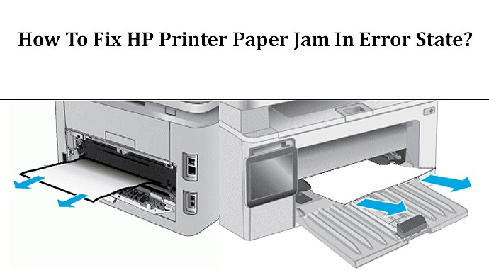 How To Get Rid Of Paper Jam Error In Hp Printer Hp Easy Start