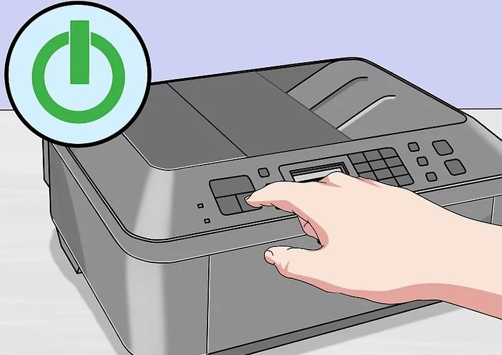 turn on your printer